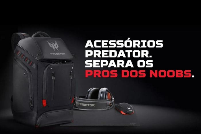 Nova linha de acessórios gamer da Acer