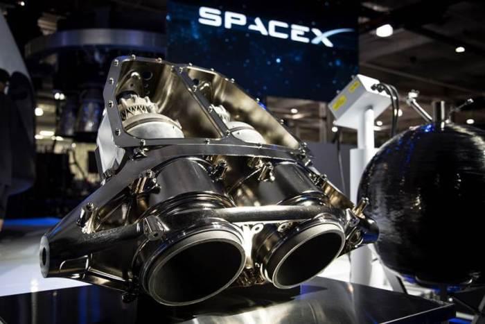 Impressão 3D com metal - SpaceX