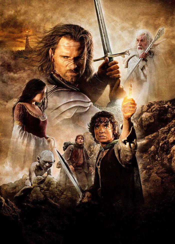Pôster de O Senhor dos Anéis: O Retorno do Rei