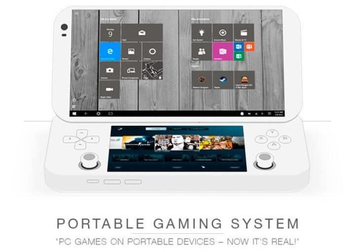 PGS, console portátil PC gamer