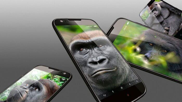 gorilla glass 5 gorilas - Gorilla Glass 5 é anunciado e será duas vezes mais resistente que a geração anterior