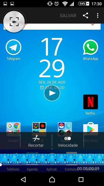 Edite seu vídeo no Xperia Z5