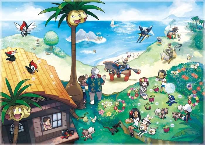 CoxrvEYWIAAiA 1.jpg large 720x509 - Pokémon Sun & Moon impressiona com novo gameplay e muda dinâmica do jogo