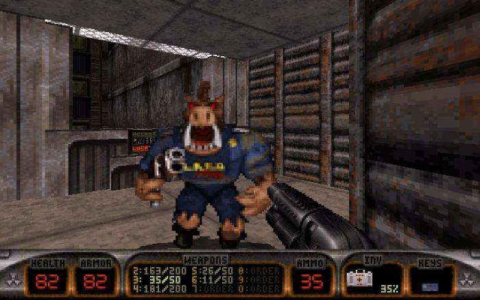 Dukem Nukem 3D 720x450 - 15 Jogos clássicos para PC que você deveria conhecer e jogar