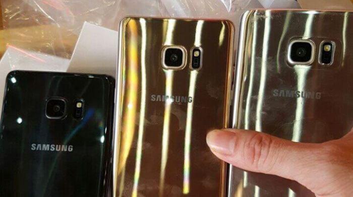 """Galaxy Note 7 vazamento cores 720x402 - Galaxy Note 7 vazou em """"unboxing"""" antes do lançamento"""