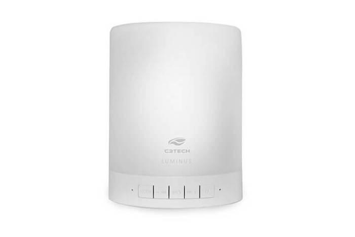 Luminus SP BL1000WH 720x480 - Luminus (SP-BL1000WH): luminária LED que também é caixa de som Bluetooth