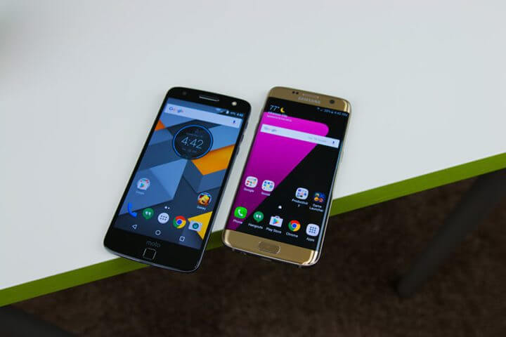 Motorola Moto Z vs Samsung Galaxy S7 Edge 17 840x560 1 - Duelo de titãs: Moto Z/Force vs. Galaxy S7/Edge