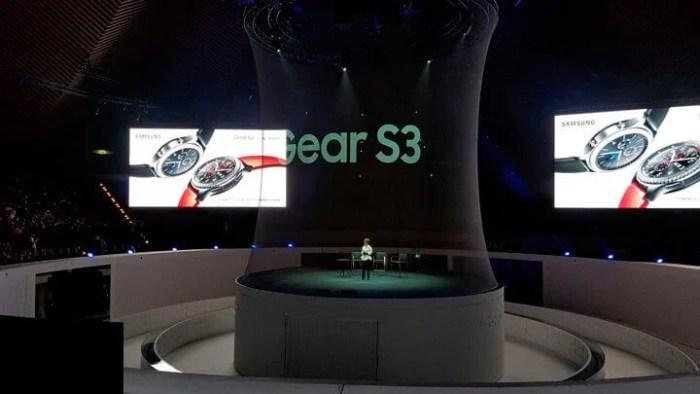 Samsung Gear S3 IFA 2016