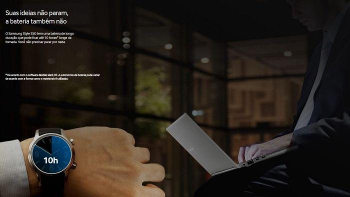 Samsung Style S50 Bateria 1 720x405 - Samsung amplia portfólio de notebooks no Brasil com lançamento do Style S50