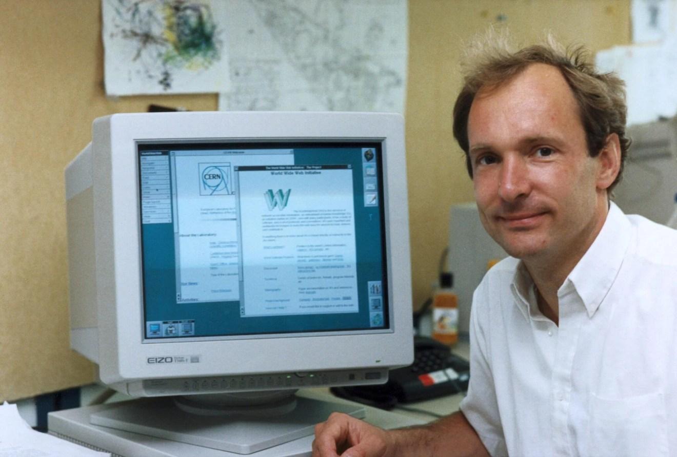 Tim Berners Lee - A Internet, como a conhecemos, completa 25 anos
