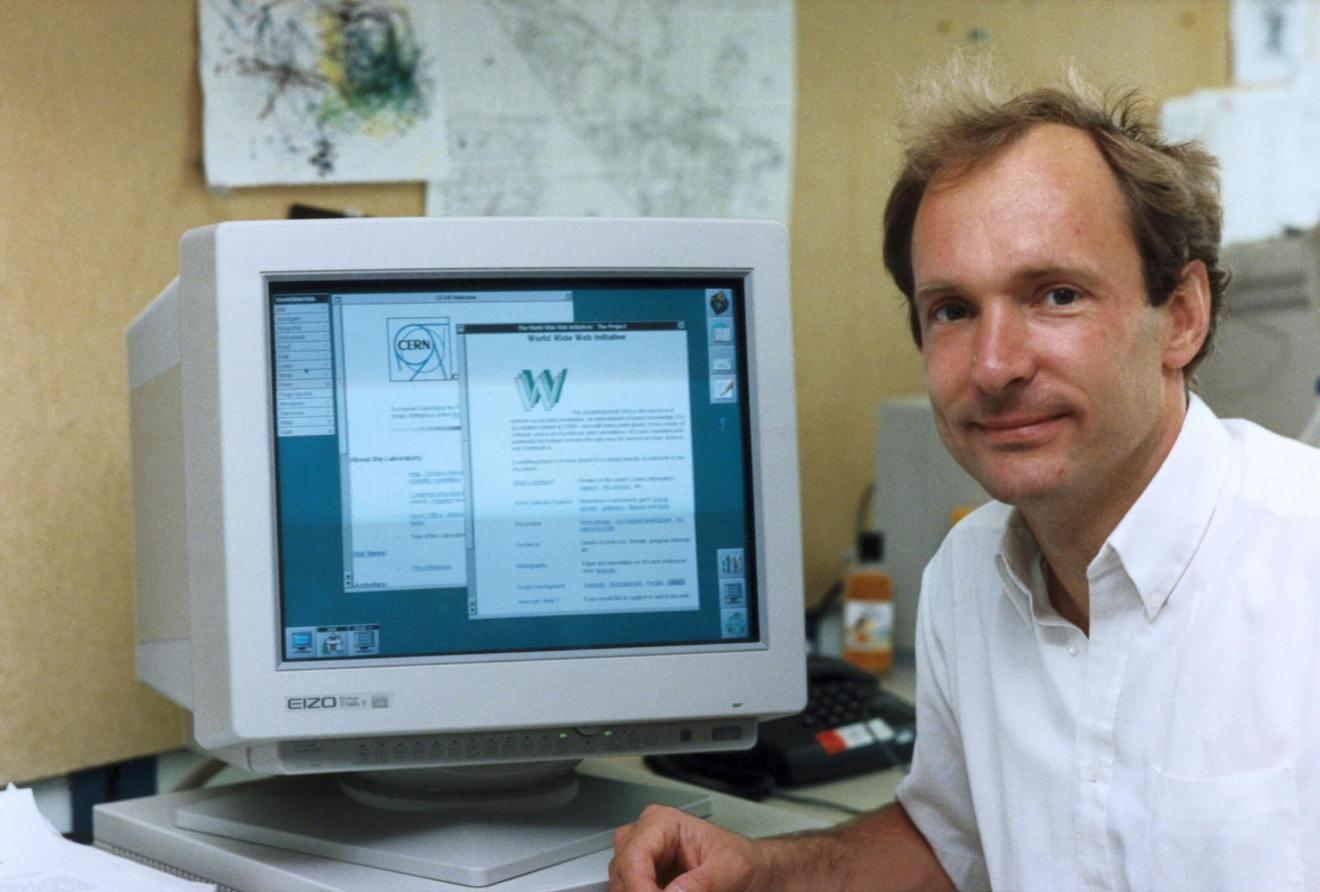 Tim Berners Lee first internet