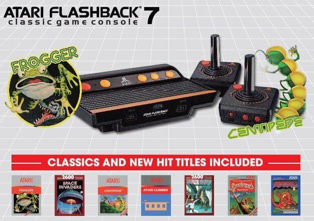 atari flashback 7 001 625x440 - Nostalgia em alta: Atari 2600 será relançado em duas versões