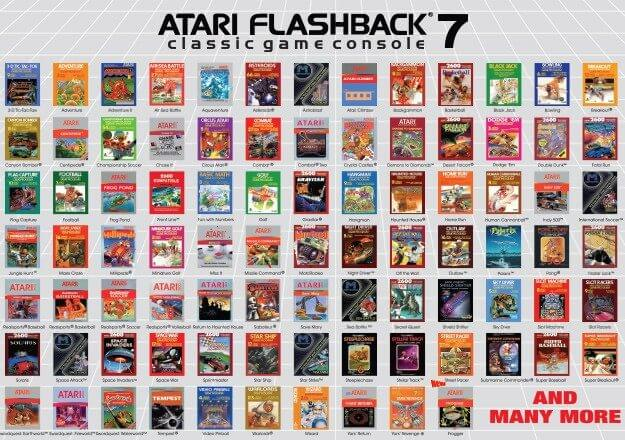 atari flashback 7 002 625x440 - Nostalgia em alta: Atari 2600 será relançado em duas versões
