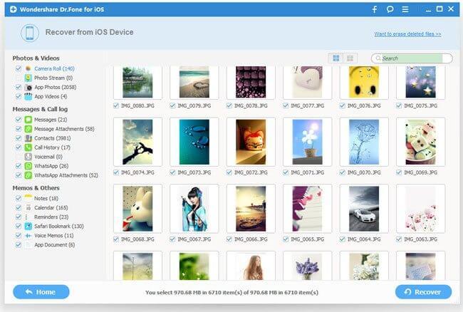 Pré-visualização: o programa permite visualizar o conteúdo no computador, para recuperar apenas os arquivos que você precisa.