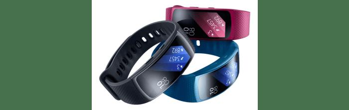 gear fit2 cores 720x227 - Review: Samsung Gear Fit2, para monitorar atividades com estilo