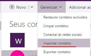 importar outlook - Tutorial: como importar e exportar contatos do Gmail e Outlook