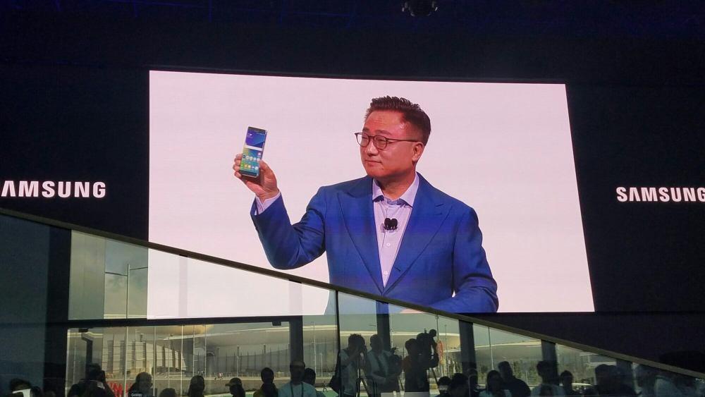 wp image 1615826432jpg - Ele chegou: Galaxy Note7 é lançado no Parque Olímpico do Rio