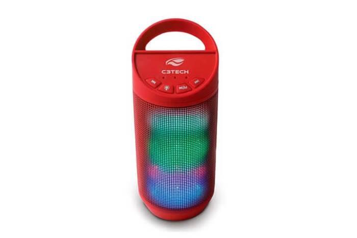 BEAT C3TECH 720x480 - Speaker Bluetooth C3Tech Beat: som e luzes para animar a sua festa