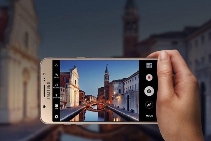 Galaxy J7 Metal - Câmeras