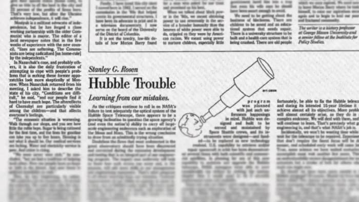 O Hubble Deep Field foi considerado uma aposta arriscada