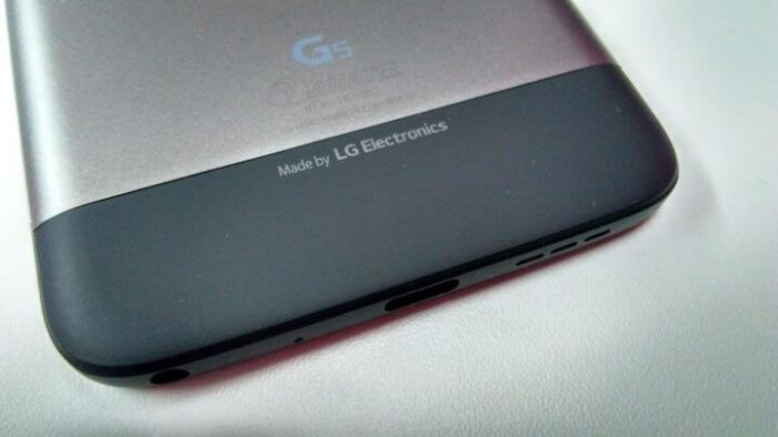 LG G5 e módulo LG Hi Fi Plus da B&O Play