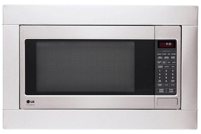 LG Studio Microondas LSRM2010ST 720x480 - Linha LG Studio traz novo conceito de cozinha para o mercado brasileiro