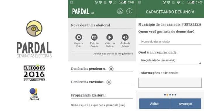 Pardal App eleições 2016 TSE