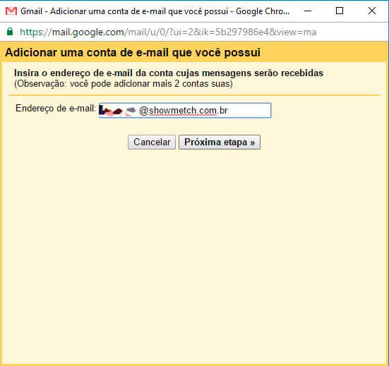 como configurar seu e-mail no Gmail