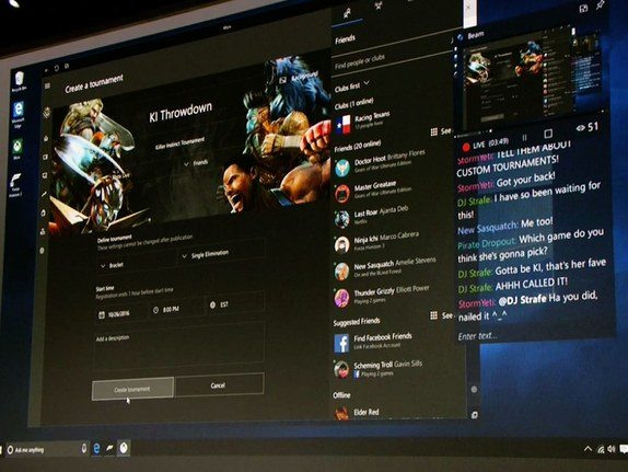 MicrosoftEvent DIY Tournaments - Confiras as 10 principais novidades do Windows 10 Creators Update