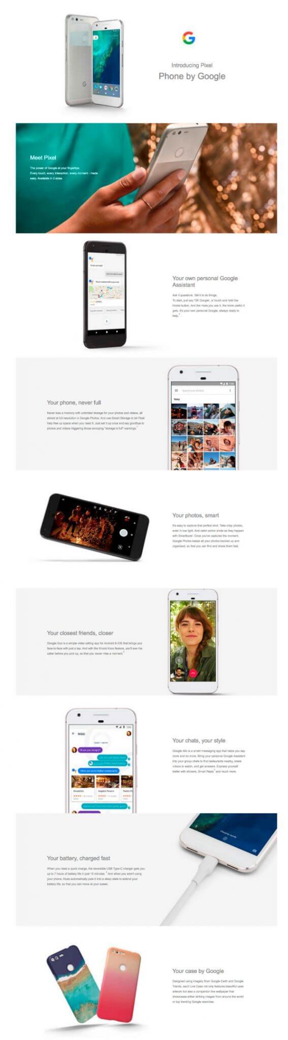 Print tela google píxel - Vazou tudo: confira todos os detalhes do Google Pixel e Pixel XL