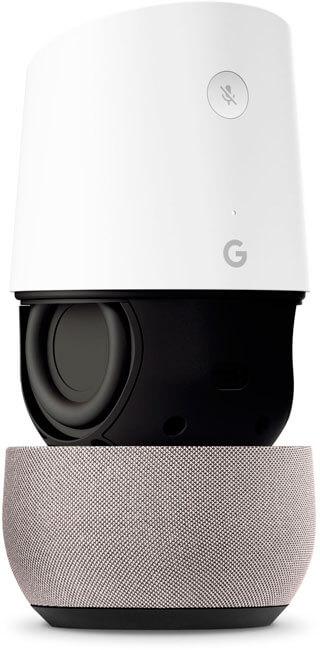 designed google home 1 - Google Home leva o Google Assistente a todos os cômodos da sua casa