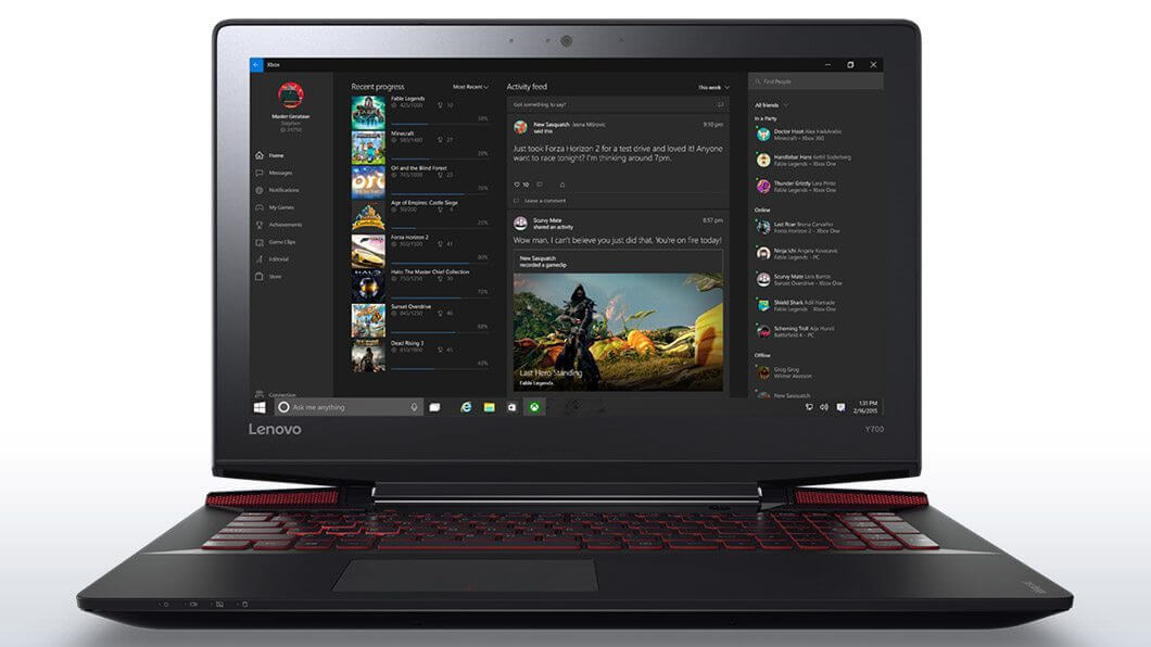 lenovo laptop ideapad y700 15 front 12 - Review: Lenovo Y700 - Quando o mercado é ouvido