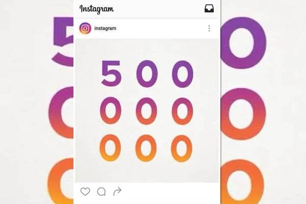 instagram 500 milhões