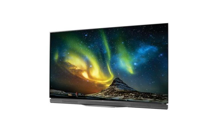"""LG OLED TV 4K HDR Ultra HD TV OLED65E6P 11 720x475 - LG faz bonito com """"Wallpaper TV"""" e recebe mais de 90 prêmios na CES 2017"""