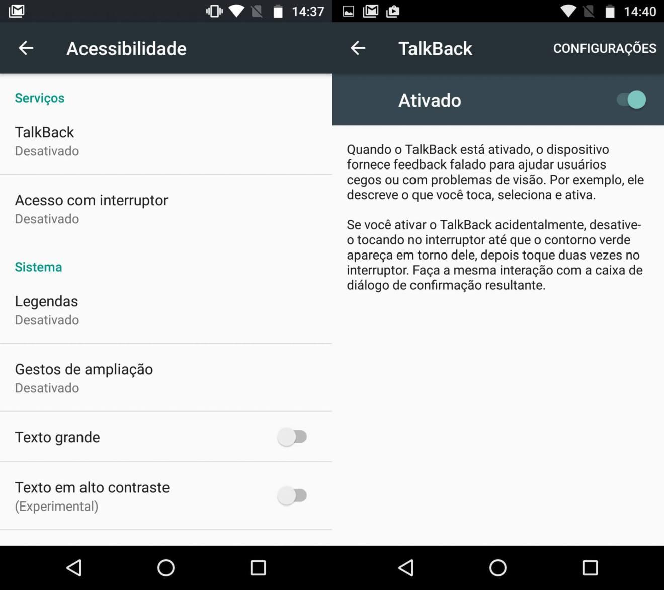 Google TalkBack