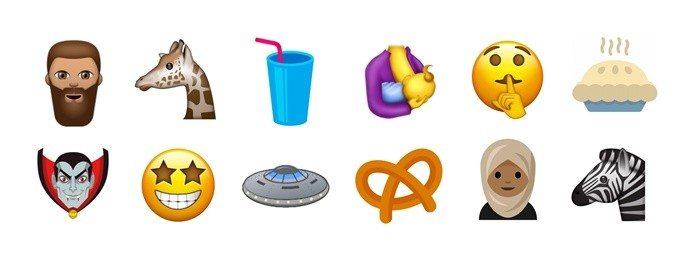 emojis unicode 10