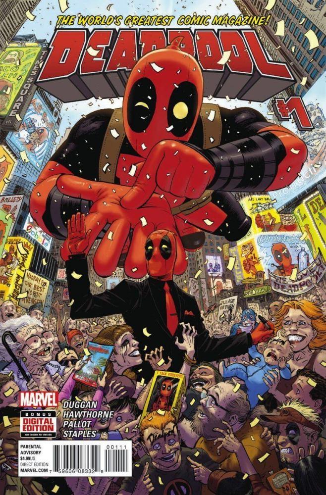 Deadpool Vol 4 1 658x1000 - [CCXP] Confira incríveis lançamentos da Panini