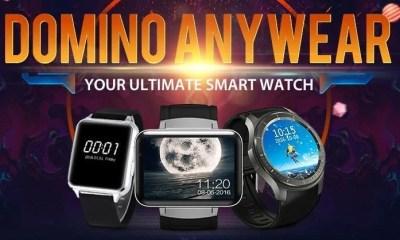 Domino Smartwear - GearBest faz promoção de smartwatches para o final do ano