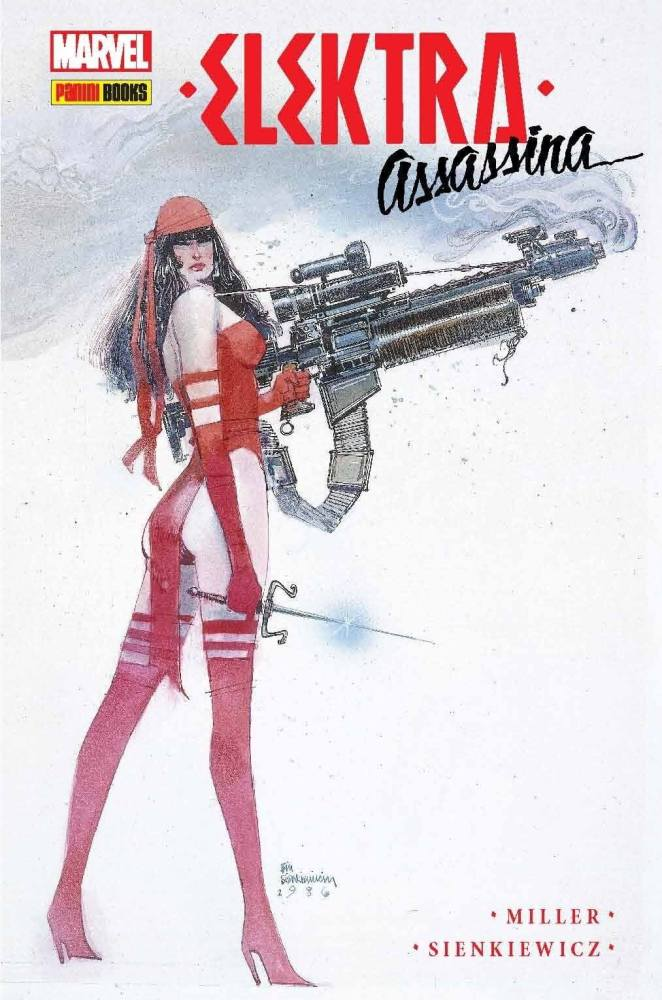 Elektra assassina frank miller sienkiewicz 662x1000 - [CCXP] Confira incríveis lançamentos da Panini