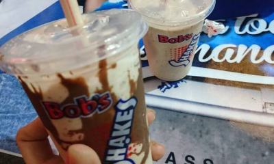 2 milkshakes do Bob's pelo preço de 1 com MasterCard Surpreenda