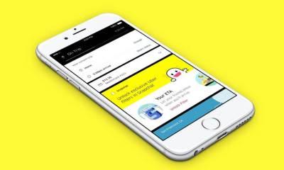 Novidade na área! Use filtros do Snapchat na sua corrida do Uber