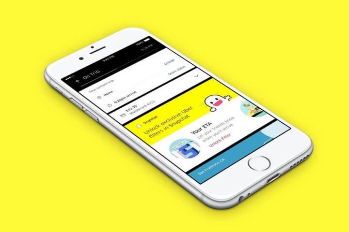 Snapchat Integration.0 720x480 - Novidade na área! Use filtros do Snapchat na sua corrida do Uber