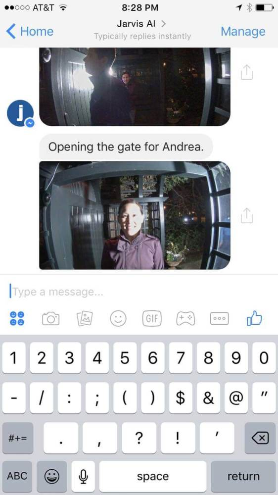 bot jarvis messenger