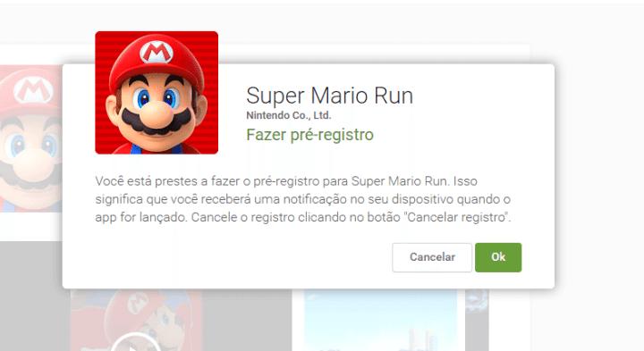 fazer pre registro google play super mario run 720x393 - Super Mario Run está chegando ao Android! Faça o pré-registro na Play Store