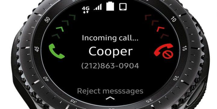 Dá para receber e fazer chamadas direto do Gear S3