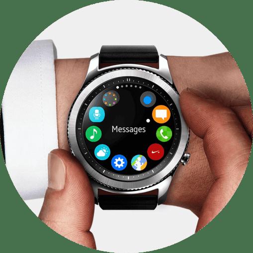 Coroa giratória: todo smartwatch deveria vir com ela.