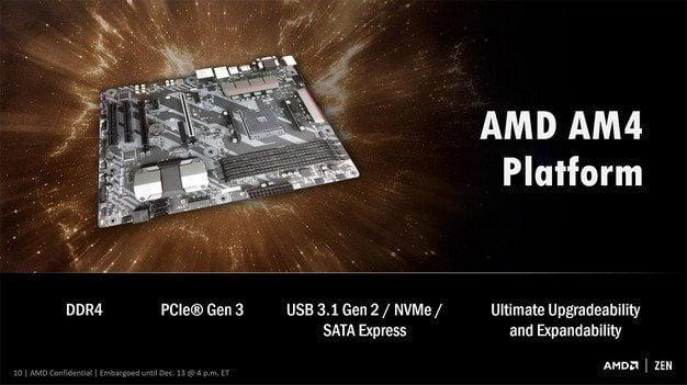 small amd ryzen details 2 - AMD Zen é 10 vezes mais buscado no Google que o Intel Kaby Lake. Entenda