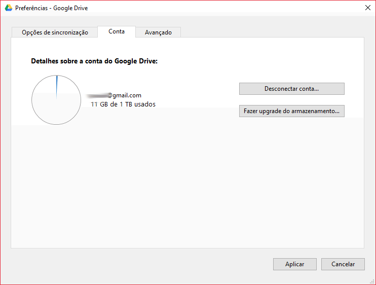 Capturar2 - Tutorial: como mudar a pasta padrão do Google Drive no computador