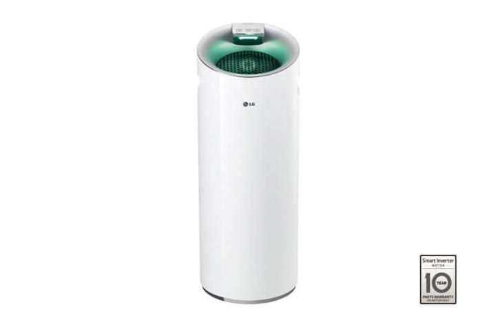"""LG Air Purifier PuriCare 360 720x475 - LG faz bonito com """"Wallpaper TV"""" e recebe mais de 90 prêmios na CES 2017"""