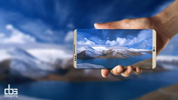LG G6 conceito DBS design